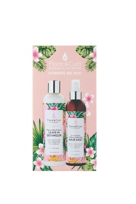 FLORA & CURL.  HYDRATE ME  Duo giftset
