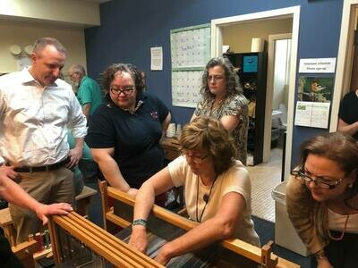 WAITLIST - 2021 Fall Floor Loom Hartford - Waitlist for Beginner or Intermediate/Advanced Students (9 weeks)