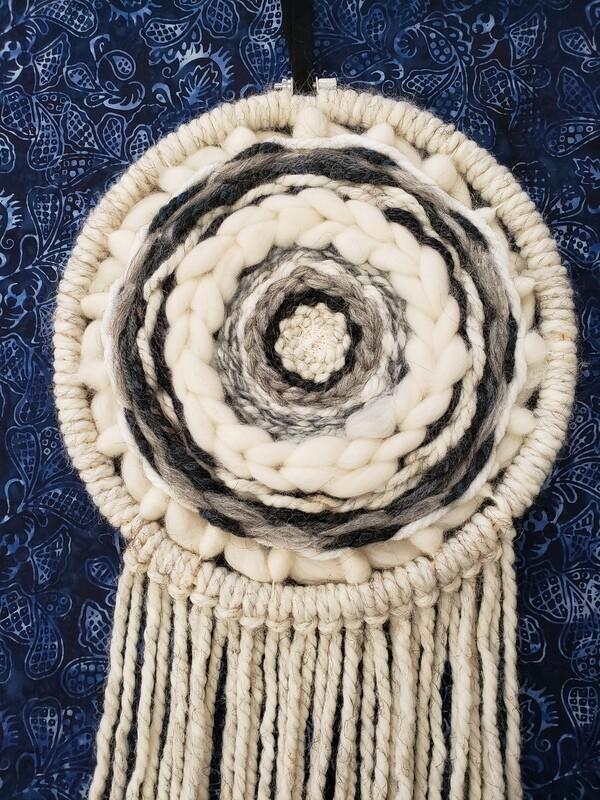 Circle Weaving: A Virtual Workshop -Saturday, Feb 27 from 10 am-12 pm