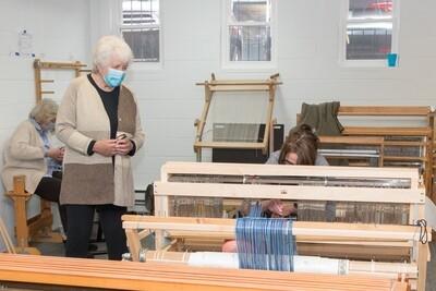 2021 Fall Floor Loom Hartford - Intermediate/Advanced (9 weeks)