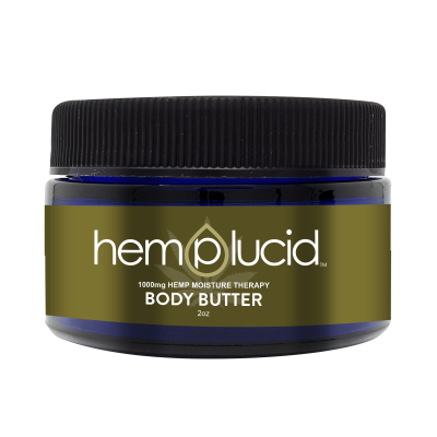 HempLucid Body Butter Topical Lotion