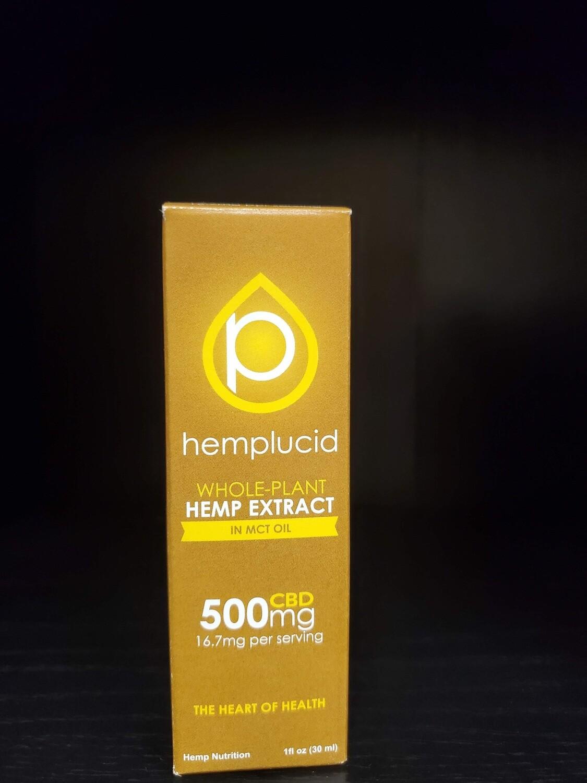 Hemplucid In MCT Oil
