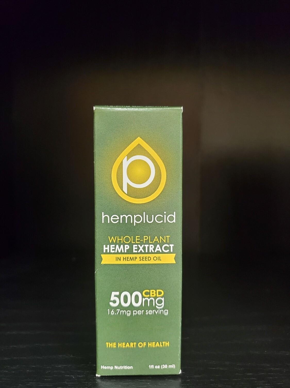 Hemplucid In Hemp Seed Oil