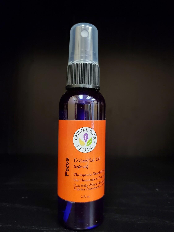 Focus Essential Oil Spray