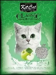 Arena Sanitaria KitCat Classic Manzana 7 Kg