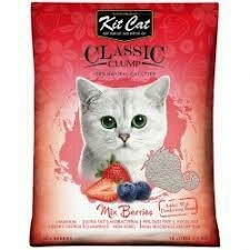Arena Sanitaria KitCat Classic Mix Frutos Rojos 7 Kg