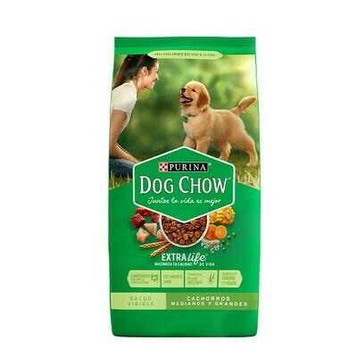 Dog Chow Cachorros Razas Mediana y Grande 21 Kg