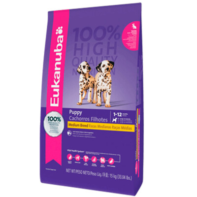 Eukanuba Cachorros Raza Mediana 15 kg