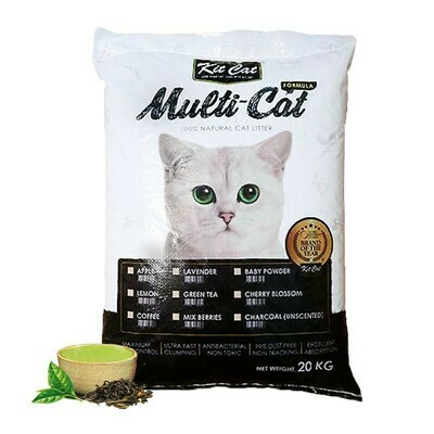 Arena Sanitaria Kit Cat 20 kg classic Sin Aroma