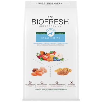 Biofresh Adultos Razas Medianas 15 Kg + Hueso