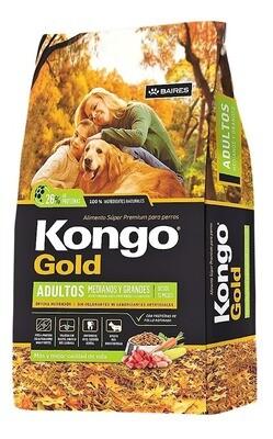 Kongo Gold Adultos 21 + 3 kg Super Premium