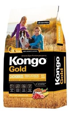 Kongo Gold Cachorros 21 Kg Super Premium