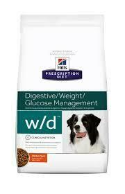 Hill's Prescription Diet W/D Control de Peso 8 kgs