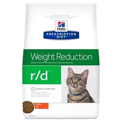 Hill's Gato Prescription Diet R/D Control de peso 1,8Kgs