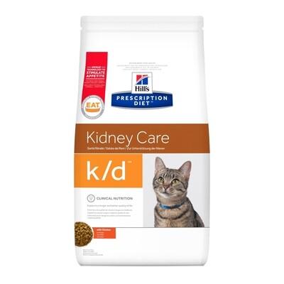 Hill's Gatos  Renal Prescription Diet K/D 1.8kgs