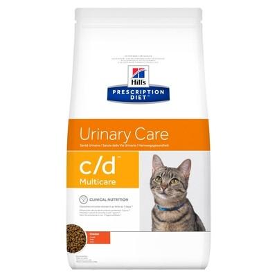Hill's Gatos Prescription Diet C/D 3.85 Kg Urinary Care