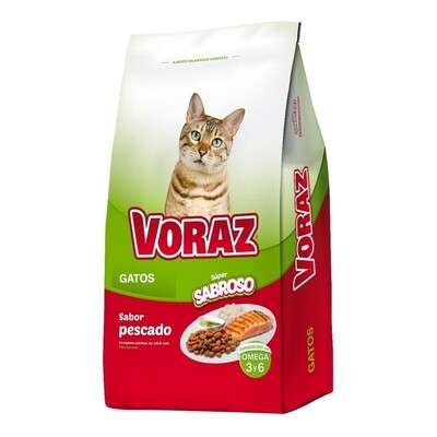 Voraz Gato Adulto 20+2 kg
