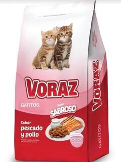 Voraz Mix Gatito  15 kg