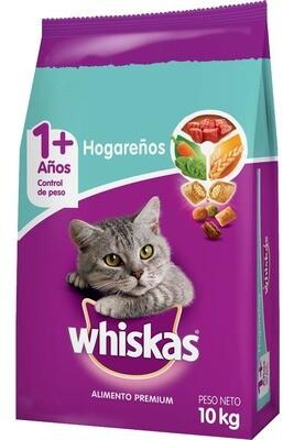 Whiskas Hogareña 10Kgs