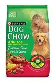 Dog Chow Adultos Razas Medianas y Grandes 21Kg+ Hueso de Juguete