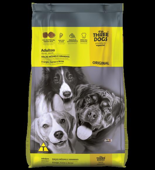 Three Dog Adulto Premium 15 kg
