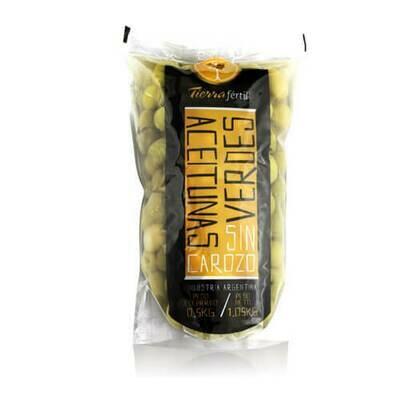 Aceitunas Tierra Fertil 1/2 kg Enteras S/Carozo