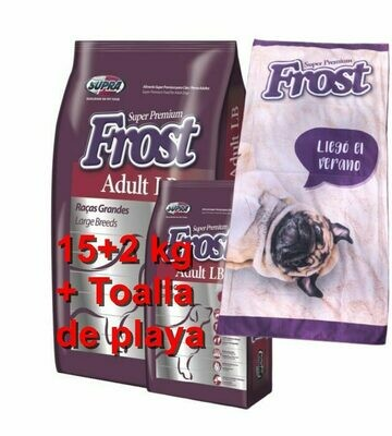 Frost Adult Large Breed 15+2Kg