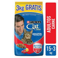 Cat Chow Delicias de Carne 15+3 kg