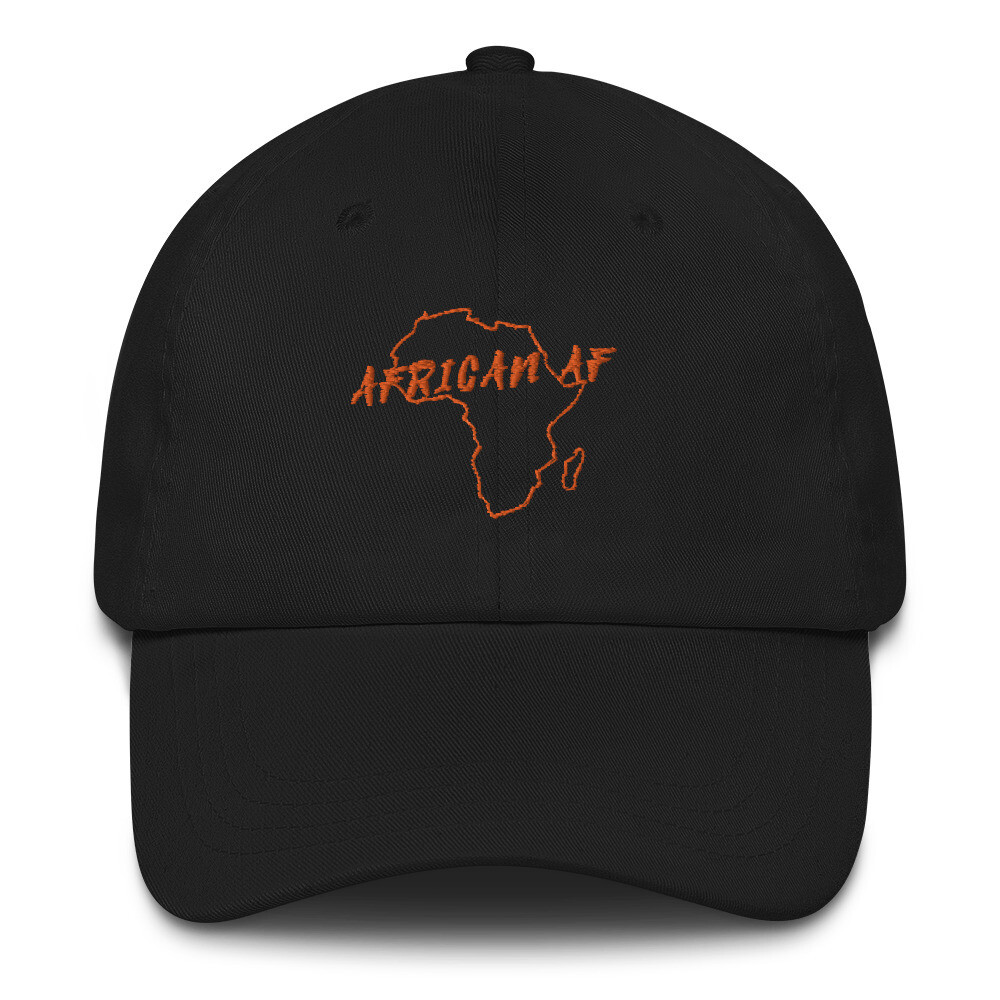 African AF Hat Orange