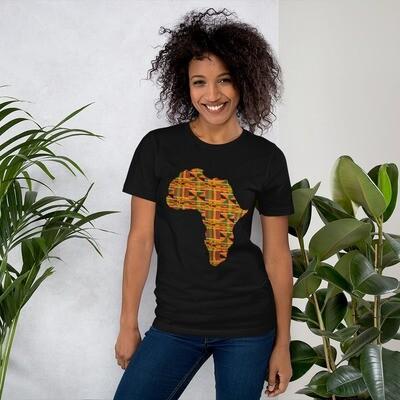 Kente Africa T-Shirt size XS-4XL