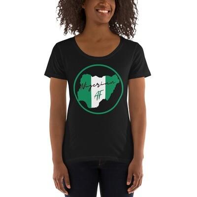 Nigerian Pride Scoopneck T-Shirt