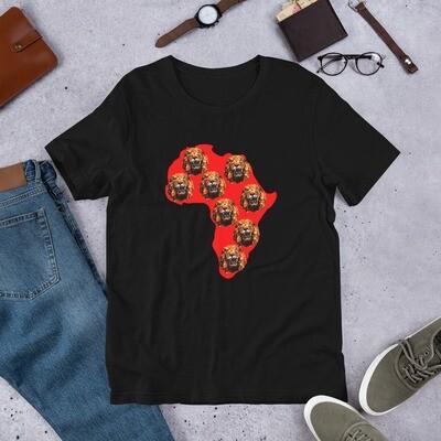 Africa Isiagu T-Shirt : African Print T-Shirt