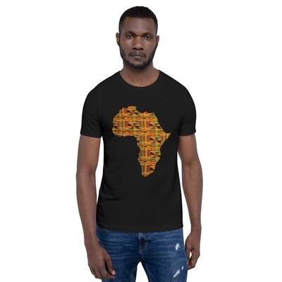 Kente Africa T-Shirt : African Print T-Shirt