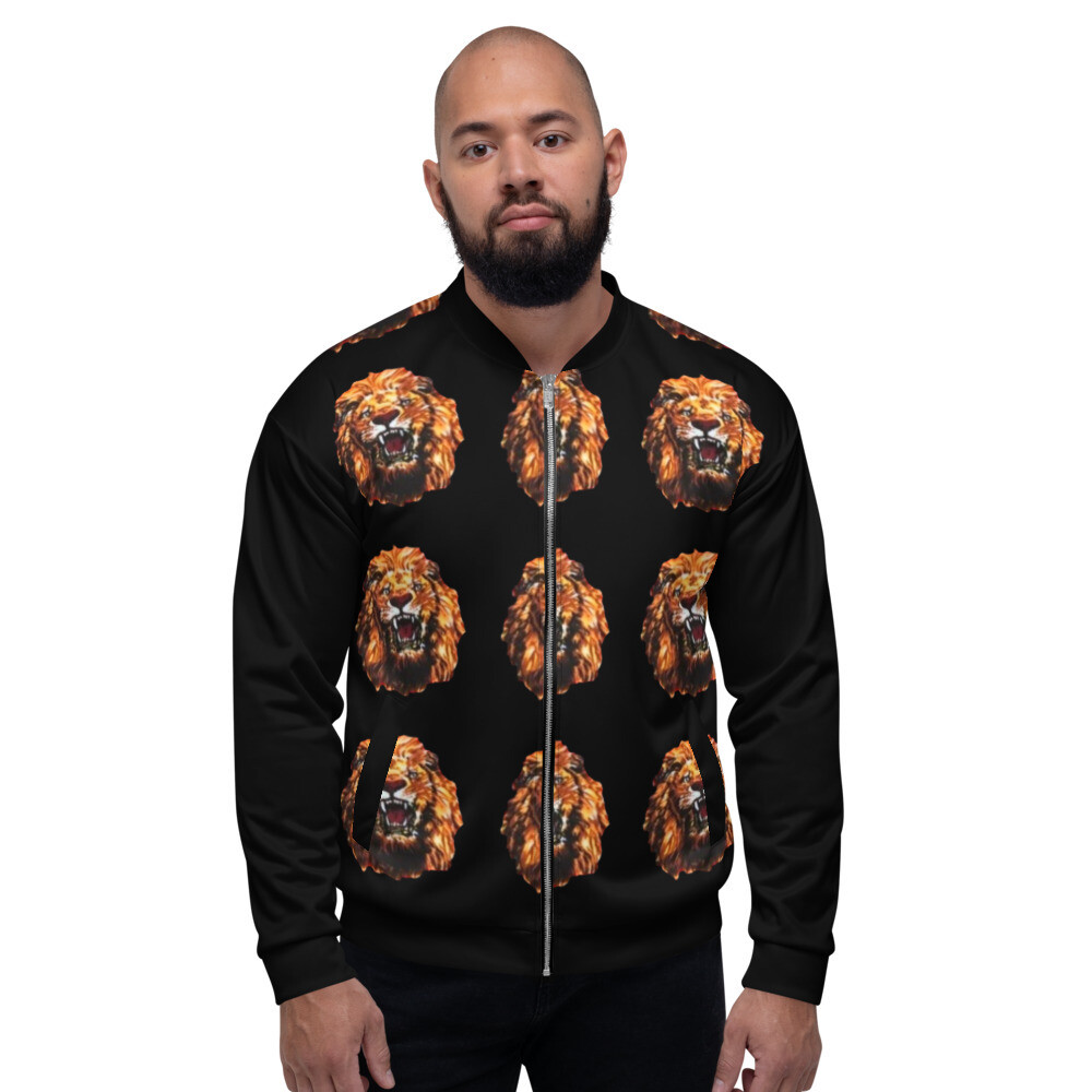 African Print Agu Bomber Jacket | LUX Collection