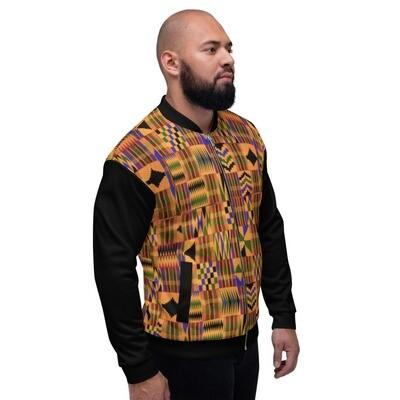 African Print Bomber Jacket : Ankara Jacket : Kente Jacket
