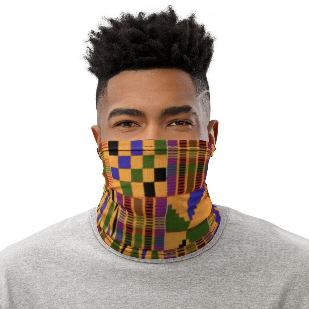African Print Mask   Neck Gaiter