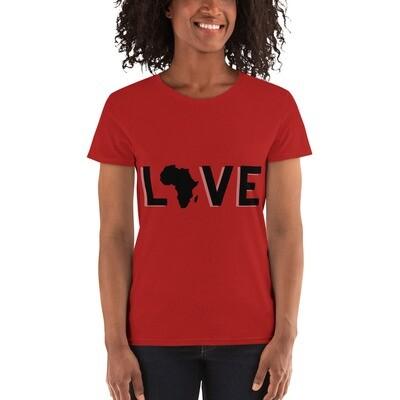 Love Africa short sleeve t-shirt