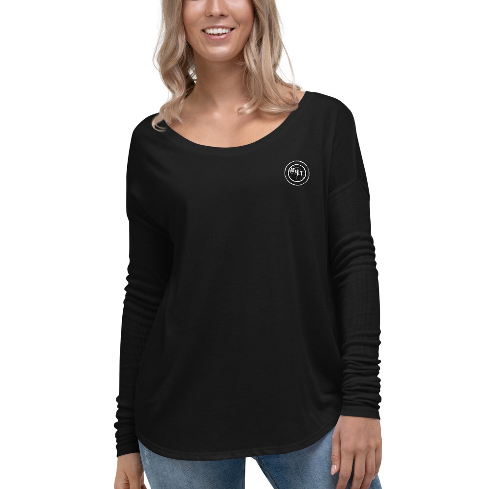 Ladies' Long Sleeve Relaxed Tee