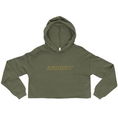 AFROFIT Crop Hoodie