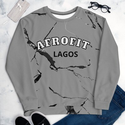 AFROFIT Lagos Sweatshirt | LUX Collection