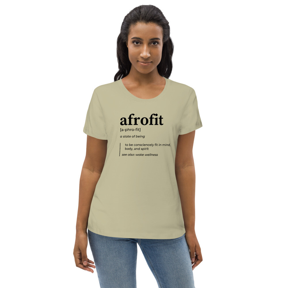 AFROFIT fitted eco tee
