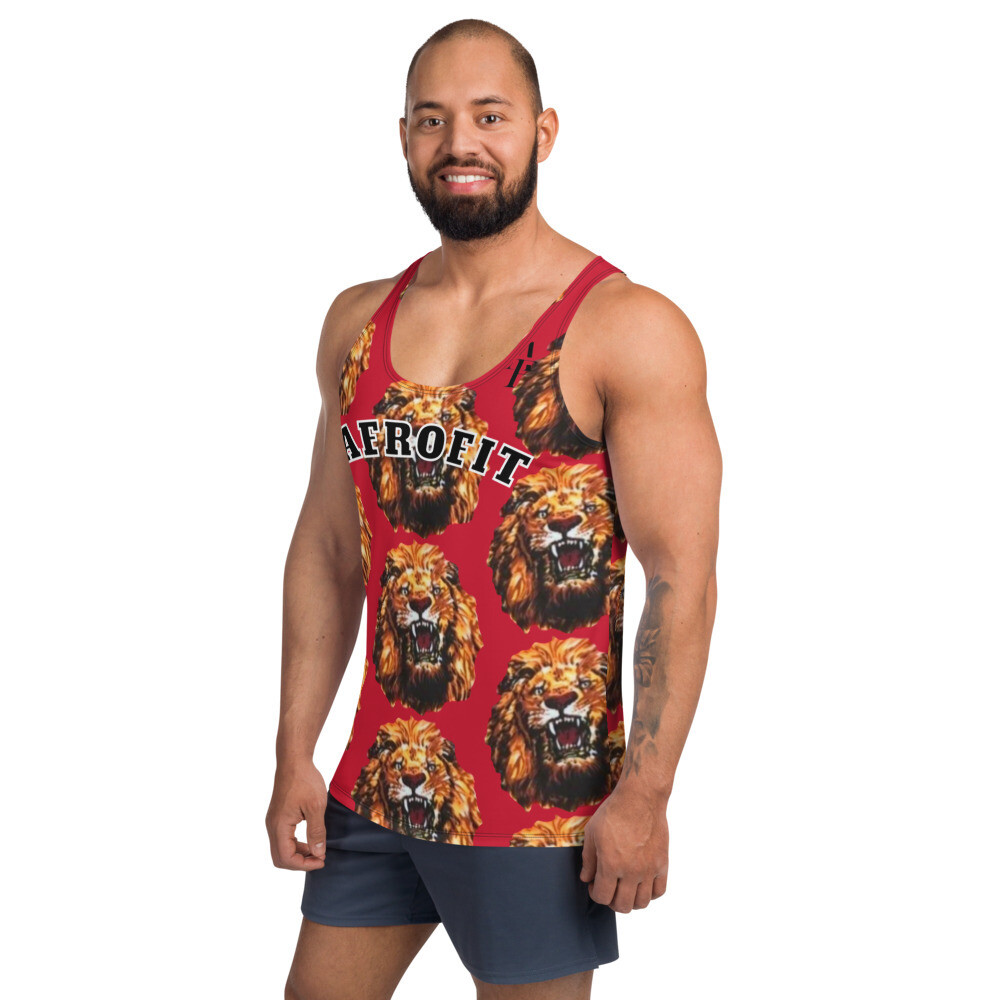 AFROFIT Agu Gym Tank Top | African Print Shirt