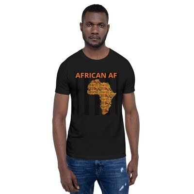 African AF T-Shirt | African Print T-Shirt