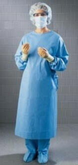 Level 1 Disposable Isolation Gown - 1000 minimum order