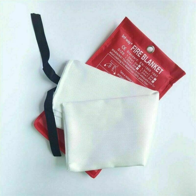 2 Emergency Personal Fire Safety Blankets