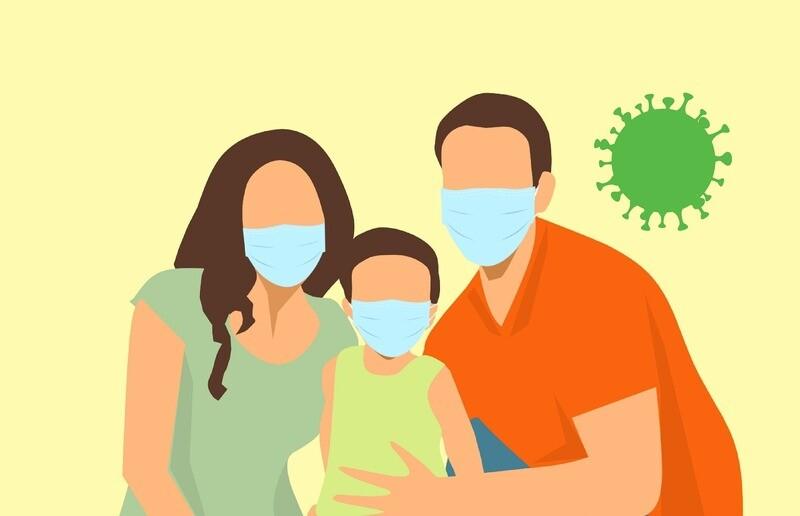 Kids size Premium KN95 Respirator Mask  - 50 pieces