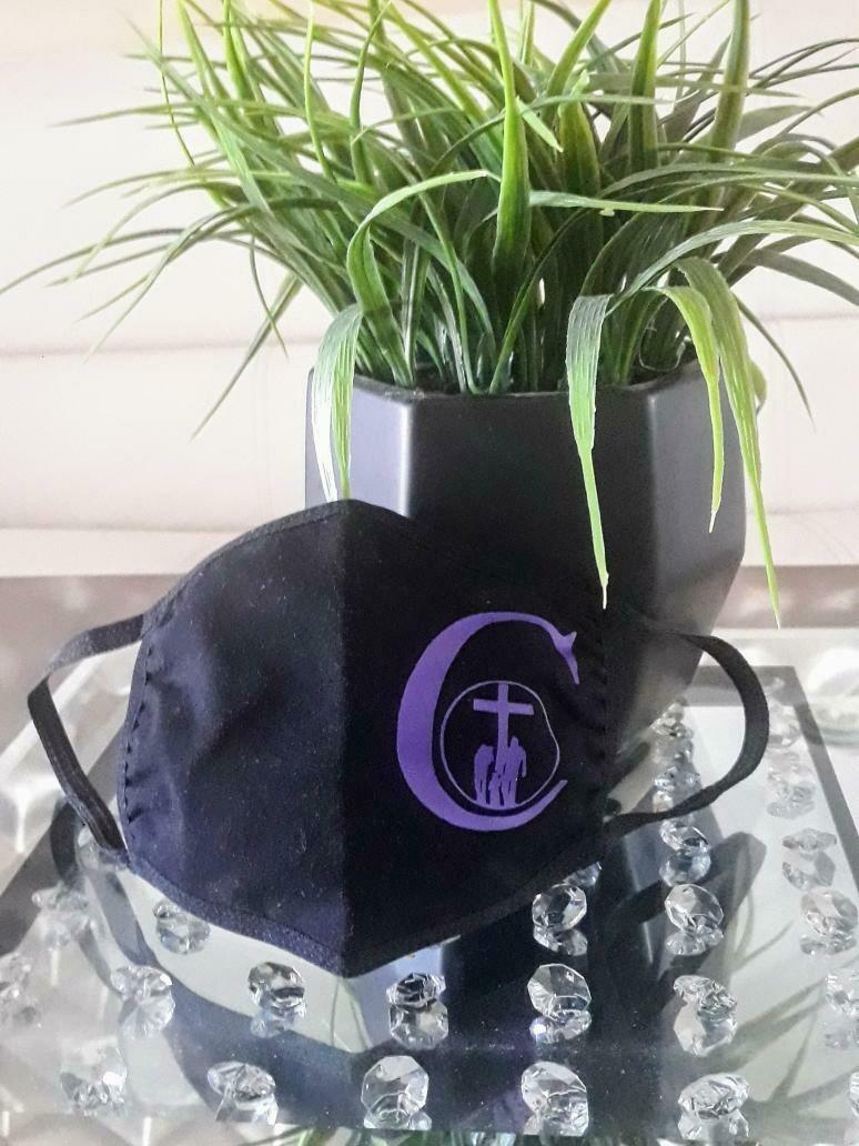 Black Mask w/Church Logo