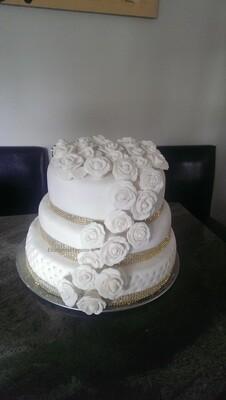 Vegan wedding cakes. Starts at $70
