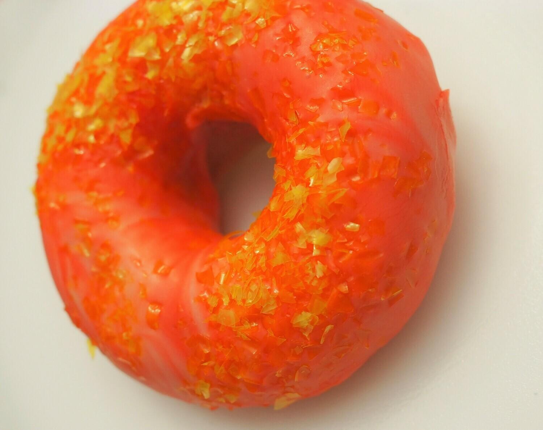 Vegan baked glazed donuts. GLUTEN FREE available.