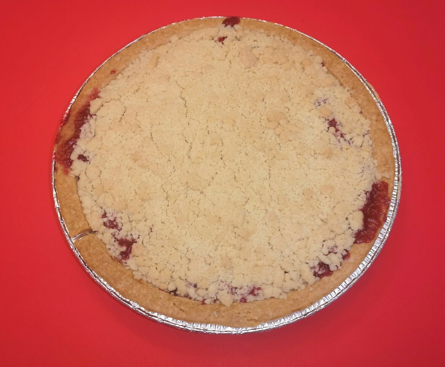 Vegan pear and cranberry pie